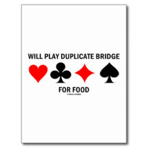 learn how to play duplicate bridge