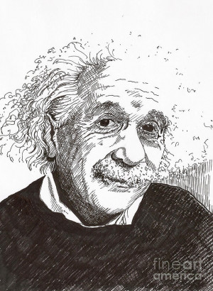 Einstein Portrait Shigaburiga