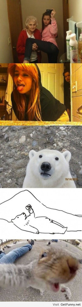 selfies in 2013 - Funny Pictures, Funny Quotes, Funny Memes, Funny ...