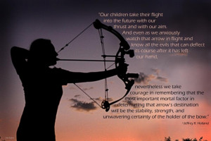 Bow And Arrow Quotes Watch that arrow in flight