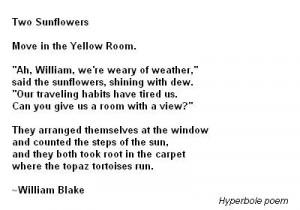 Hyperbole poems - best poems Hyperbole