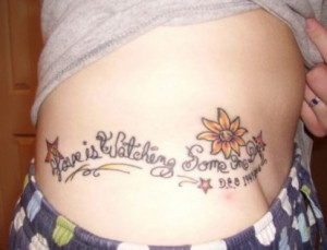 Tattoo Ideas: Quotes on Death, Heaven, Mourning
