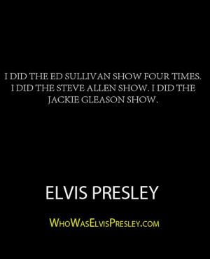 ... Jackie Gleason show.