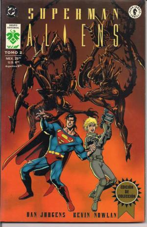 Superman VS Aliens Tomo2 Images