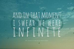 Swear We Were Infinite Tattoo On Ribs And In That Moment I