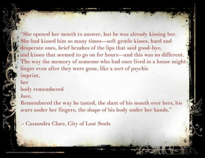 City of Lost Souls Quote