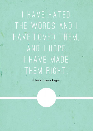 The book thief quotes with page numbers