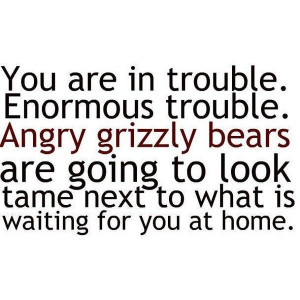 angry grizzly bears eclipse quote (:found on Polyvore