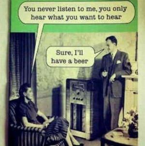 Selective hearing ... guilty