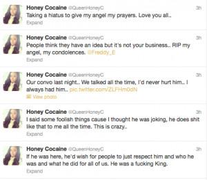 Honey Cocaine Freddy E Suicide