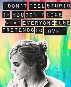Emma Watson Celebrity Quotes | the perfect line