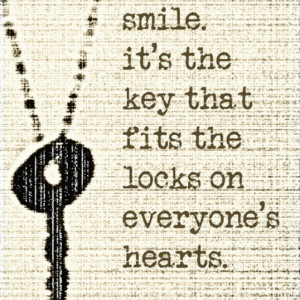 Just smile:) #quotes #smile