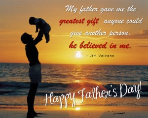 You are the wind beneath my wings. Happy Father's Day!