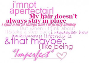 Imperfect Quote