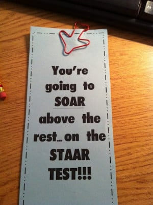 Staar test ideas