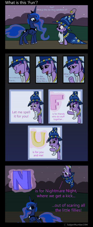 Funny Mlp Comics Luna Re: mlp: friendship is magic!
