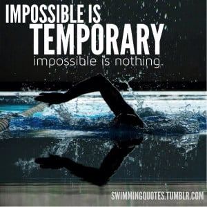 Swimming Quotes HD Wallpaper 18