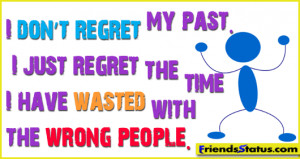 Wasted with the wrong people