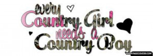 Every Country Girl Needs A Country Boy Cover Comments