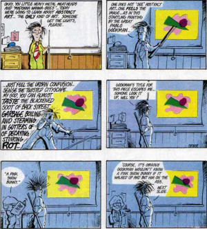 Getting Crap Past the Radar : Among numerous examples, a Sunday strip ...