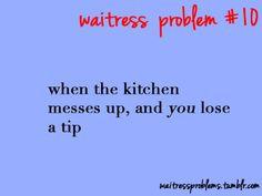 Waitress Problems More
