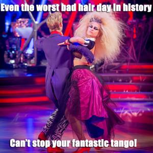 bruno tonioli even pixie lott s halloween special hairdo didn t ...