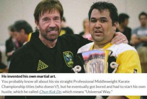 Great Chuck Norris Facts That Are 100 Percent True (10 pics)