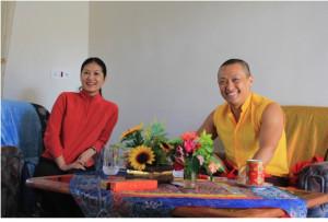 Dragon Wisdom Princess born to Sakyong Sakyong Wangmo All rejoice