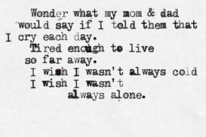 Sad Song Lyrics Tumblr Quotes Christina perri - sad song