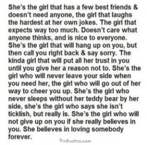 that type of girl... Its not even funny how much this is me