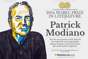 Patrick Modiano a reçu jeudi le Prix Nobel de littérature.