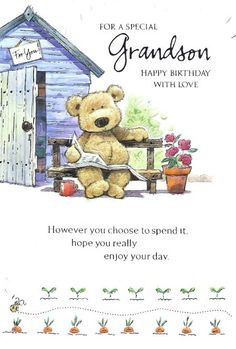 birthday wishes for grandchildren | Grandson Birthday Quotes Happy ...