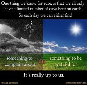 rain,sun,grateful,life,Positive Thinking – Inspirational Quotes ...