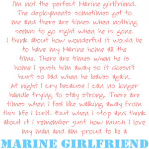 Marine Girlfriend Prayer Quotes and sayings