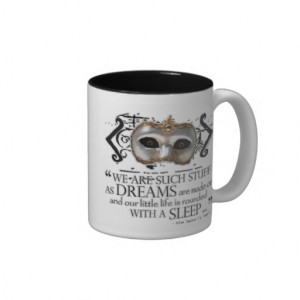 The Tempest Quote Coffee Mug