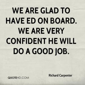 Richard Carpenter Quotes