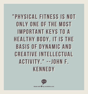 ... Physical Fitness MEANS TO YOU and you will be entered in our February