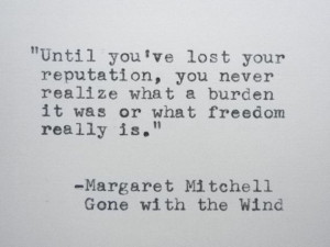 GONE WITH the WIND Quote Margaret Mitchell Quote by PoetryBoutique, $8 ...