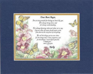 image Personalized Touching and Heartfelt Poem for Aunts Dear Aunt