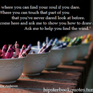 Laurie Halse Anderson is one of the smartest people I have ever met...