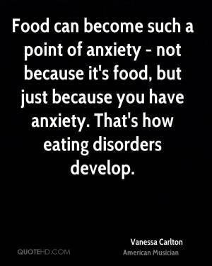 Vanessa Carlton Food Quotes
