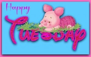Happy Tuesday quotes cute quote piglet days of the week tuesday ...