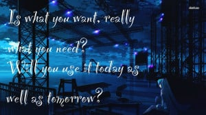 Anime Lonely Quotes Anime Quote 184 by Anime