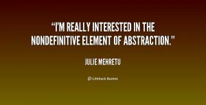 Quotes by Julie Mehretu