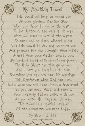 Baptism Poems. Special Poems For A Son. View Original . [Updated on 11 ...