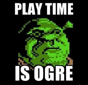 If you want our glorious Ogre-Lord to be seen on the big screen once ...