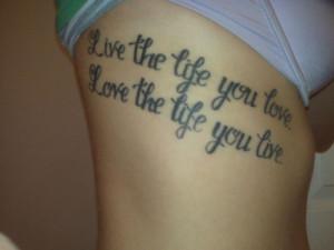 Motivational Tattoo
