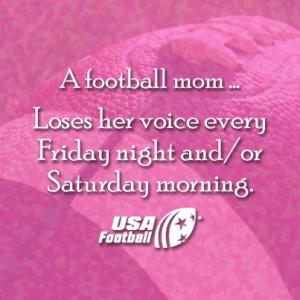 ... Football Mom Quotes Proud. a football mom. #footballmoms. via football