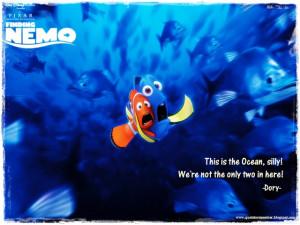 Finding Nemo Quotes Dory