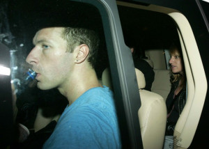 Chris Martin spotted after performing with Coldplay in Cape Town 95937